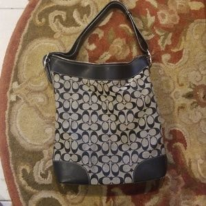 Coach large tote